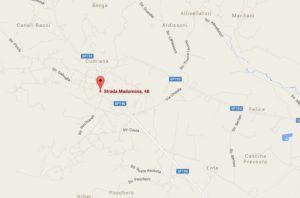 Longo tappezziere Cumiana Mappa 2
